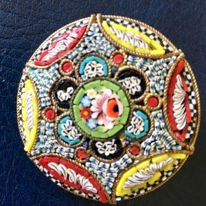 Jewelry - Rare Vintage Italian Handcrafted Pin